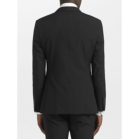Buy Kin by John Lewis Slim Fit Bale Plainweave Suit Jacket, Black Online at johnlewis.com