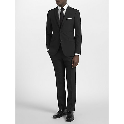Buy Kin by John Lewis Bale Plainweave Suit Jacket, Black Online at johnlewis.com