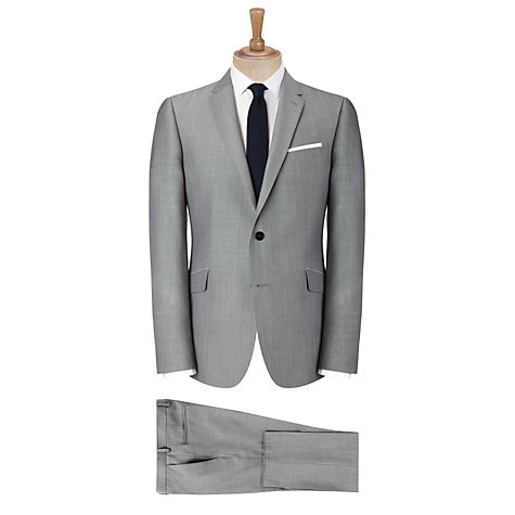 Buy Kin by John Lewis Stamford Tonic Suit Trousers, Light Grey Online at johnlewis.com