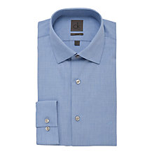 Buy CK Calvin Klein Plain Long Sleeve Shirt, Blue Online at johnlewis.com