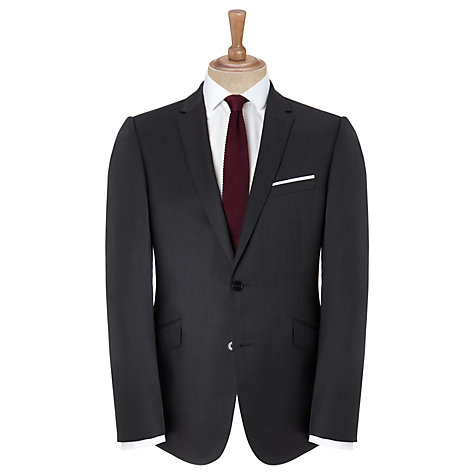 Buy Kin by John Lewis Hurst Geometric Suit Jacket, Charcoal Online at johnlewis.com