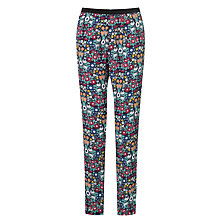 Buy Collection WEEKEND by John Lewis Daisy Chain Print Trousers, Multi Online at johnlewis.com