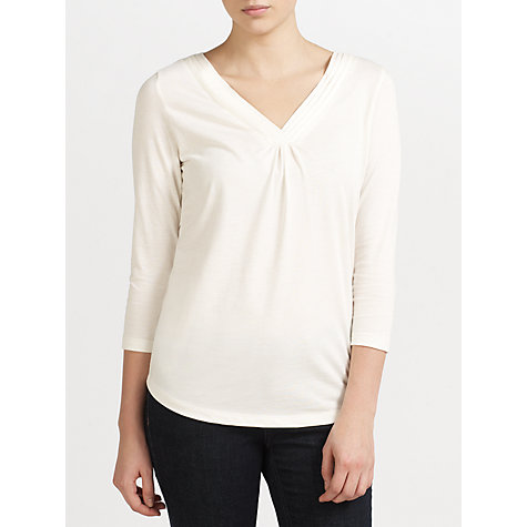 Buy John Lewis Capsule Collection Pleated Neck Top Online at johnlewis.com