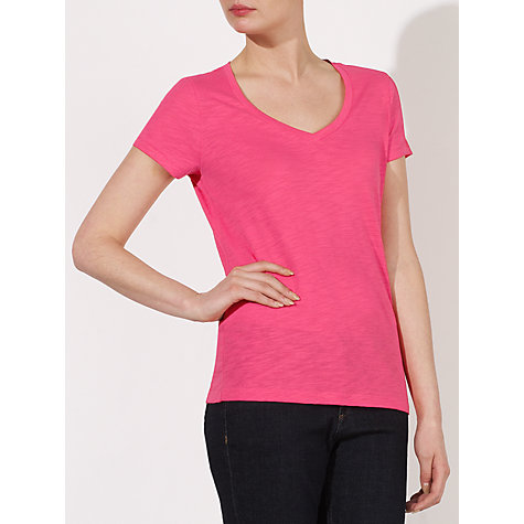 Buy Collection WEEKEND by John Lewis V-Neck Slub T-Shirt Online at johnlewis.com