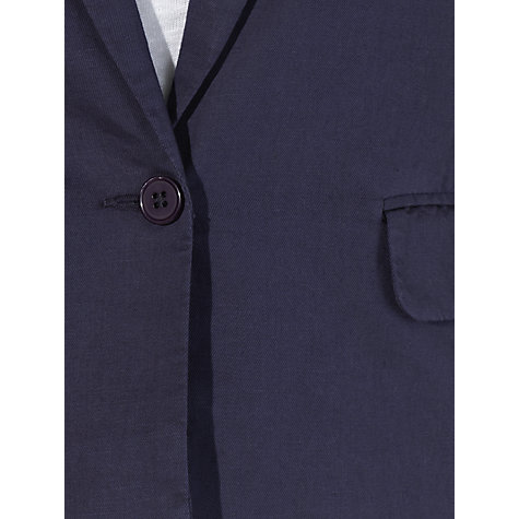 Buy Collection WEEKEND by John Lewis Cotton/Twill Jacket, Navy Online at johnlewis.com