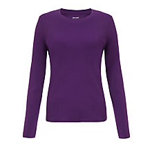 Buy John Lewis Long Sleeve Crew Neck Top Online at johnlewis.com