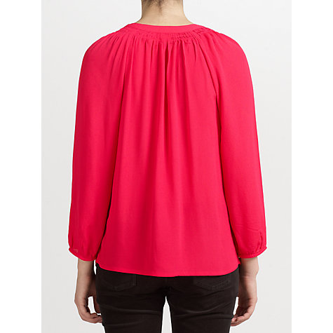 Buy Collection WEEKEND Smock Neck Blouse Online at johnlewis.com