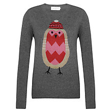 Buy Collection WEEKEND by John Lewis Robin Charity Jumper, Multi Online at johnlewis.com