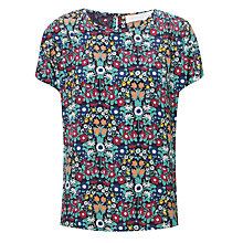 Buy Collection WEEKEND by John Lewis Daisy Chain Print Top, Multi Online at johnlewis.com