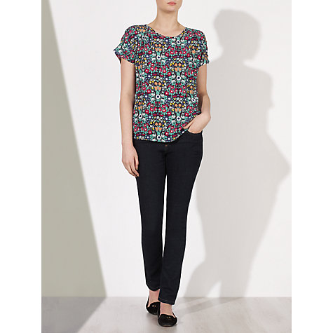 Buy Collection WEEKEND by John Lewis Daisychain Print Top, Multi Online at johnlewis.com