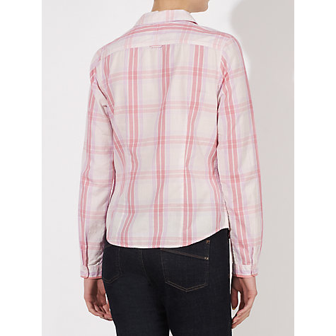 Buy Collection WEEKEND by John Lewis Cotton Shirt, Pink Online at johnlewis.com