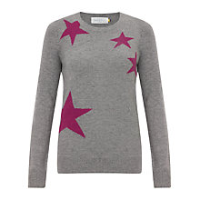 Buy Collection WEEKEND by John Lewis Falling Stars Jumper, Grey Online at johnlewis.com