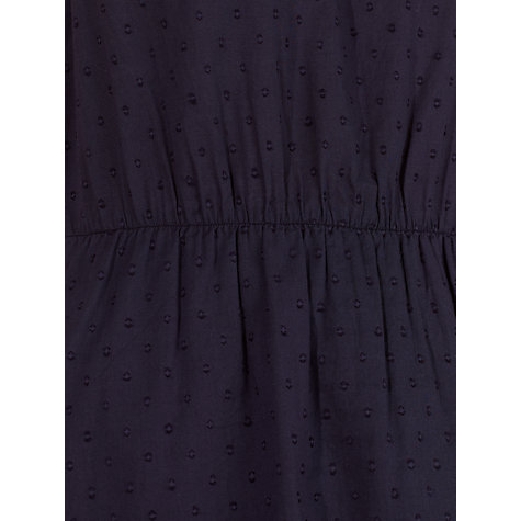 Buy Collection WEEKEND by John Lewis Dobby Dress, Navy Online at johnlewis.com