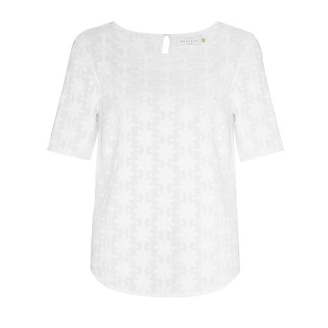 Buy Collection WEEKEND by John Lewis Floral Embroidered Top Online at johnlewis.com