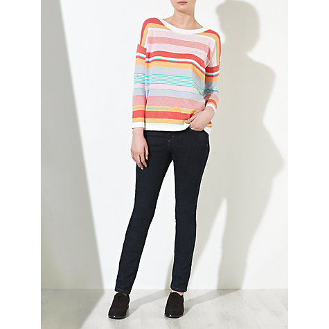 Buy Collection WEEKEND by John Lewis Striped Knit Top, Multi Online at johnlewis.com