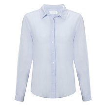 Buy Collection WEEKEND by John Lewis Voile Garment Dye Shirt Online at johnlewis.com