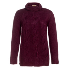 Buy Jigsaw Cable Turtle Neck Sweater Online at johnlewis.com