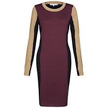 Buy Fenn Wright Manson Mika Dress, Aubergine / Camel Online at johnlewis.com
