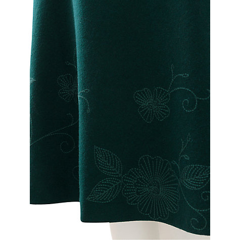Buy East Fior Embroidered Skirt, Ivy Online at johnlewis.com