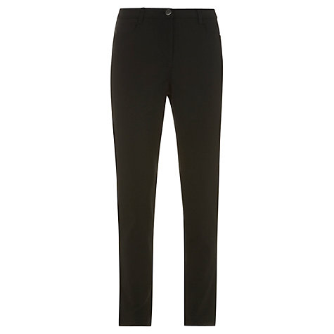 Buy Mint Velvet Trouser Jeans, Black Online at johnlewis.com
