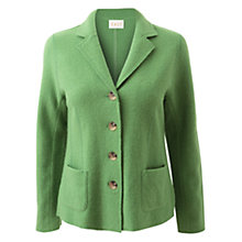 Buy East Classic Boiled Wool Blazer, Leaf Green Online at johnlewis.com