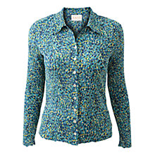 Buy East Bima Shirt, Marine Online at johnlewis.com