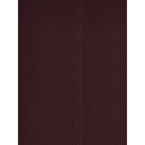 Buy Jigsaw Fine Wool Skirt, Plum Online at johnlewis.com