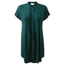 Buy East Pleat Detail Tunic, Ivy Online at johnlewis.com