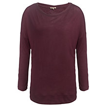Buy Jigsaw Twisted Hem Batwing Top Online at johnlewis.com