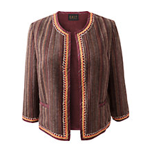 Buy East Turner Jacket, Merlot Online at johnlewis.com