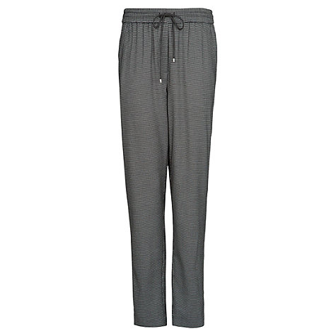 Buy Mango Jaquard Baggy Trousers, Grey Online at johnlewis.com