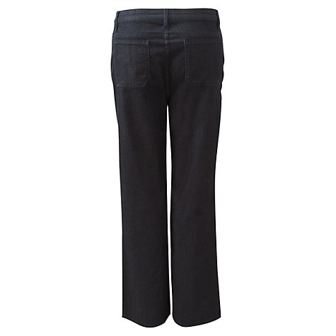 Buy East Wide Leg Trousers, Dark Denim Online at johnlewis.com