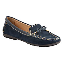 Buy John Lewis Vermont Nubuck Leather Trim Moccasin Loafers Online at johnlewis.com