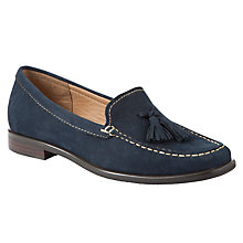 Buy John Lewis Genoa Nubuck Tasseled Moccasin Loafers Online at johnlewis.com