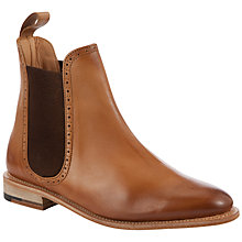 Buy John Lewis Made in England Whitehall Ankle Boots, Tan Online at johnlewis.com