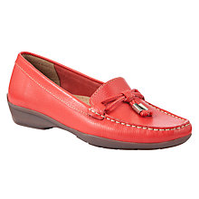 Buy John Lewis Moscow Leather Tasseled Moccasin Loafers Online at johnlewis.com