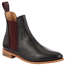Buy John Lewis Made in England Clarence Ankle Boots, Black Online at johnlewis.com