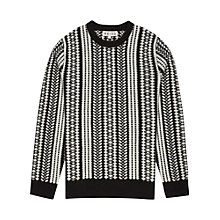 Buy Reiss Roamer Pattern Jumper Online at johnlewis.com