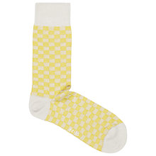 Buy Reiss Billy Chess Board Patterned Socks Online at johnlewis.com