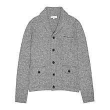 Buy Reiss Amo Salt & Pepper Silk and Wool Cardigan Online at johnlewis.com