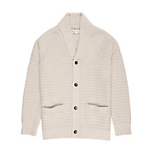 Buy Reiss Wayfield Lambswool Chunky Cardigan Online at johnlewis.com
