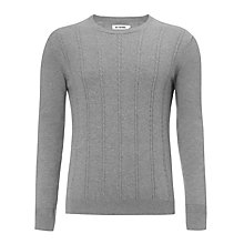 Buy Ben Sherman Cable Knit Crew Neck Jumper Online at johnlewis.com