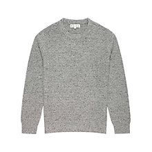 Buy Reiss Chestnut Crew Neck Jumper Online at johnlewis.com