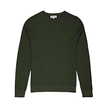 Buy Reiss Paddington Waffle Stitch Jumper Online at johnlewis.com