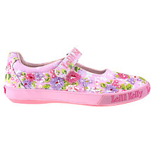 Buy Lelli Kelly Daisy Dolly Floral Beaded Pumps, Hot Pink Online at johnlewis.com