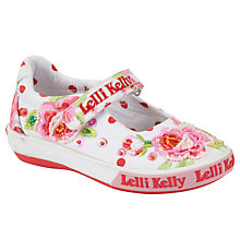 Buy Lelli Kelly Freya Doll Spot Pumps, White/Multi Online at johnlewis.com