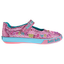 Buy Lelli Kelly Elsie Dolly Glitter Shoes, Pink Online at johnlewis.com