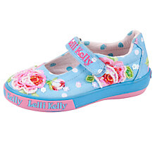 Buy Lelli Kelly Freya Dolly Shoes, Blue/Multi Online at johnlewis.com