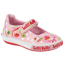Buy Lelli Kelly Freya Doll Beaded Shoes, Pink Online at johnlewis.com
