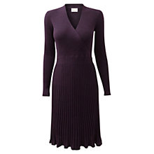 Buy East Pleated Merino Dress Online at johnlewis.com